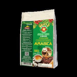 Cà phê hạt StarVina Coffee Arabica – gói 500g