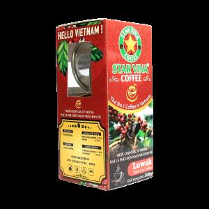 Cà phê Star Vina Coffee Luwak – hộp 300g tặng phin