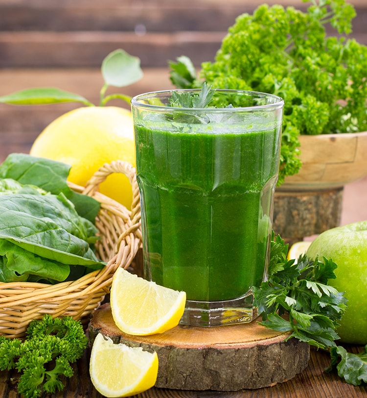 Good Health With Vegetable Juices