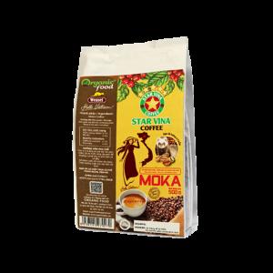 Cà phê hạt Star Vina Moka – gói 500(g)