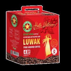 Cà Phê Bột Luwak Hiệu Starvina Coffee