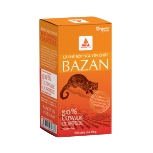 Cà phê bột nguyên chất bazan hiệu aly coffee